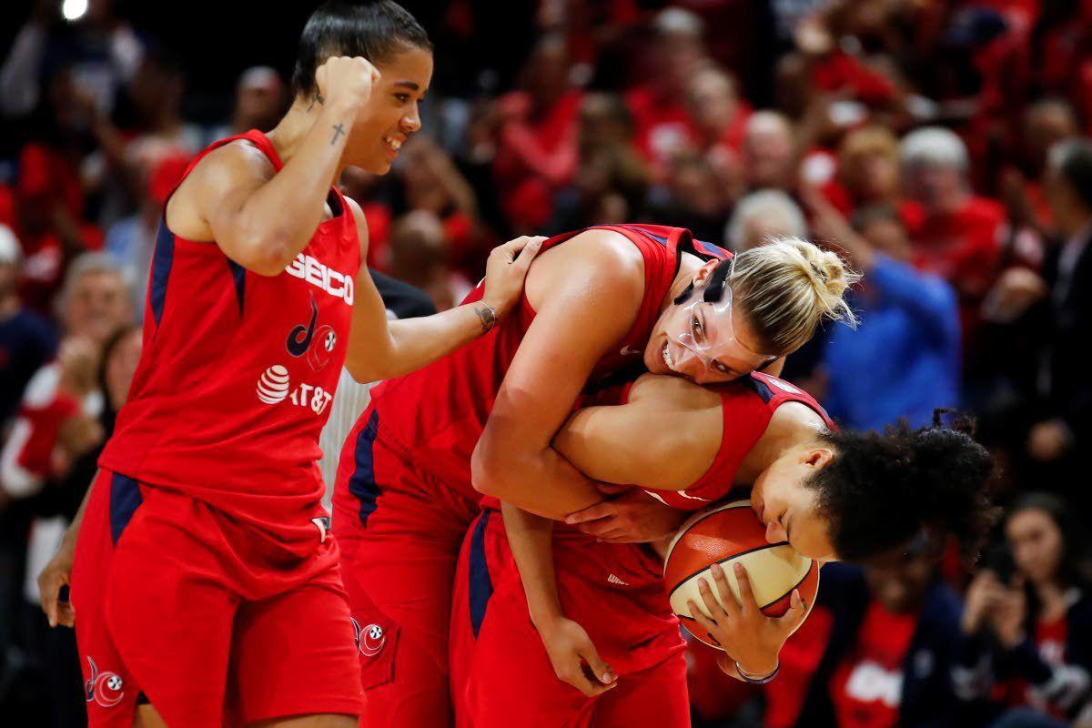 Bringing it home: Delle Donne, Mystics earn first WNBA crown