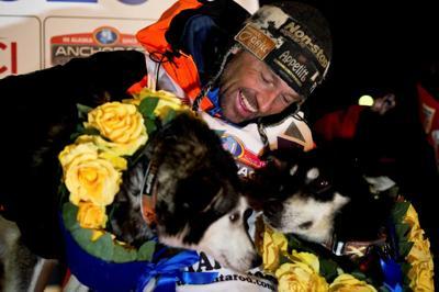 Virus strands Norway racer in Alaska after Iditarod win
