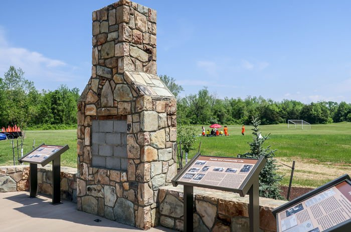 Blue Ridge Heritage Project monument