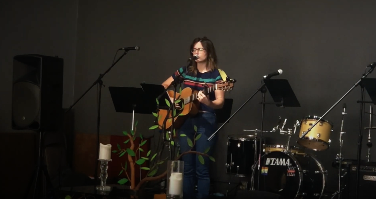 Amy Martin plays at RISE
