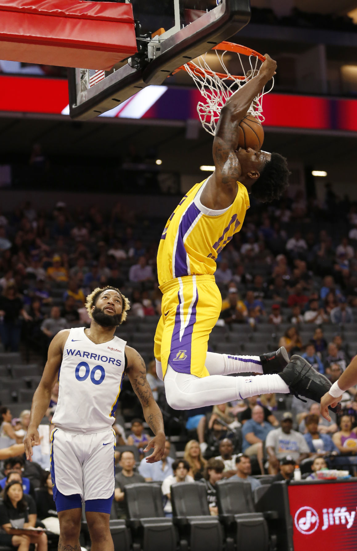 Lakers Warriors Basketball