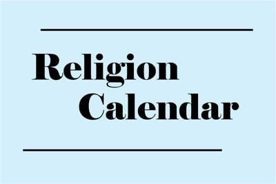 Religion Calendar Art