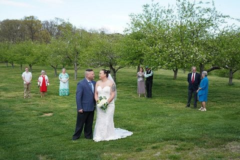 wedding pandemic Jump