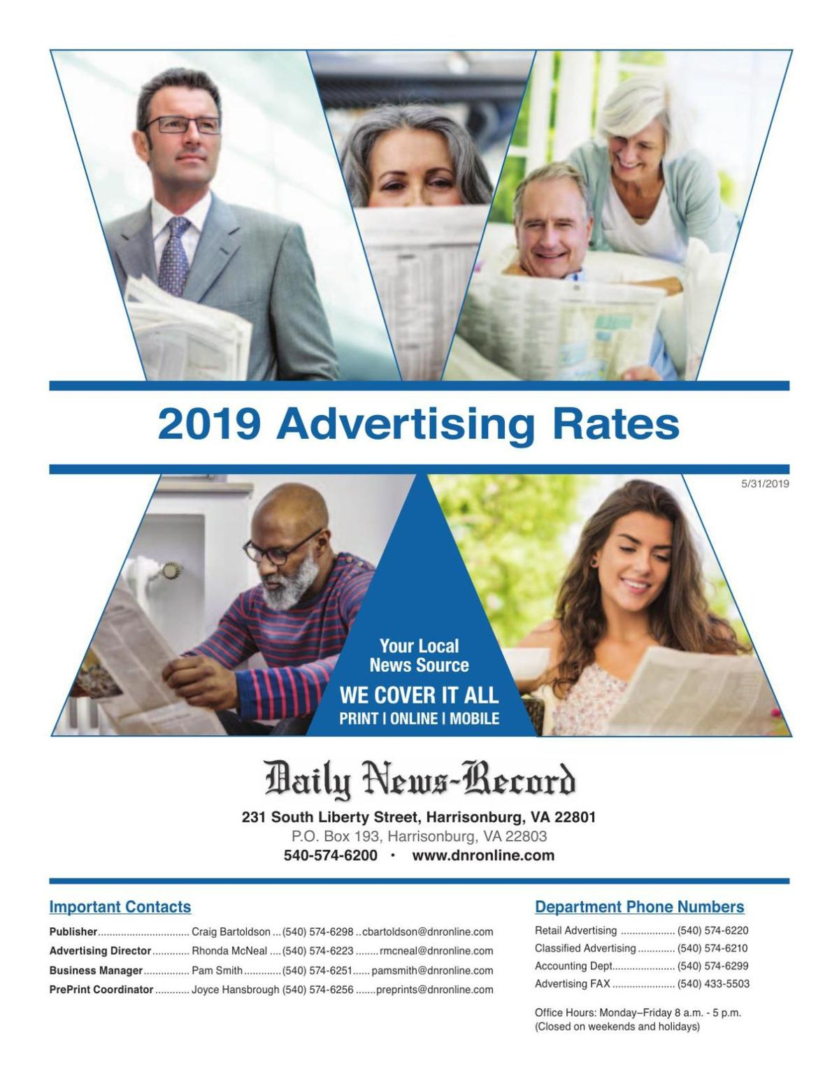 Daily News-Record Rate Guide for 2019