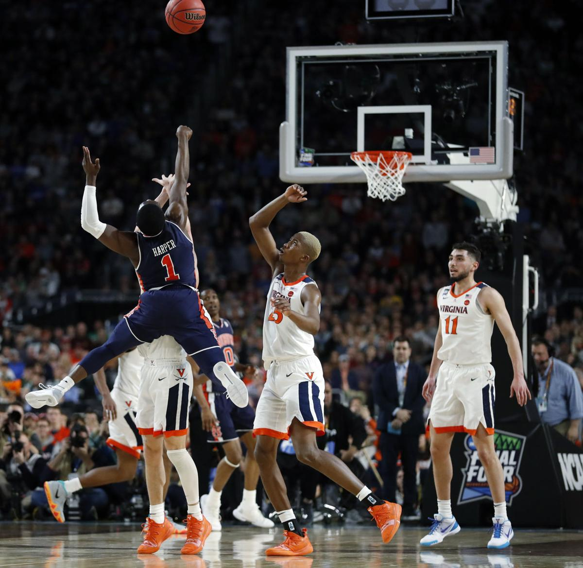 Final Four Auburn Virginia Basketball