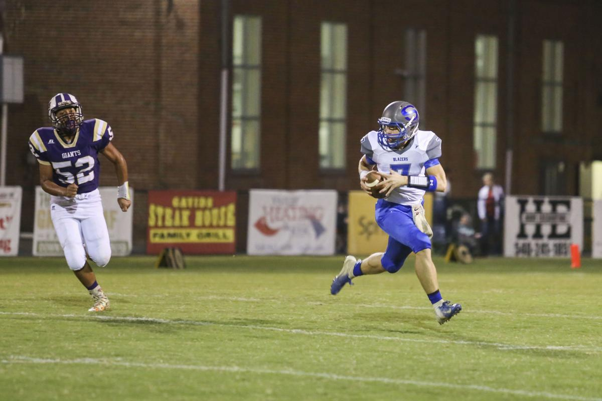 Waynesboro vs Spotswood football