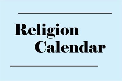 Religion Calendar March 24-30 | Features | dnronline com