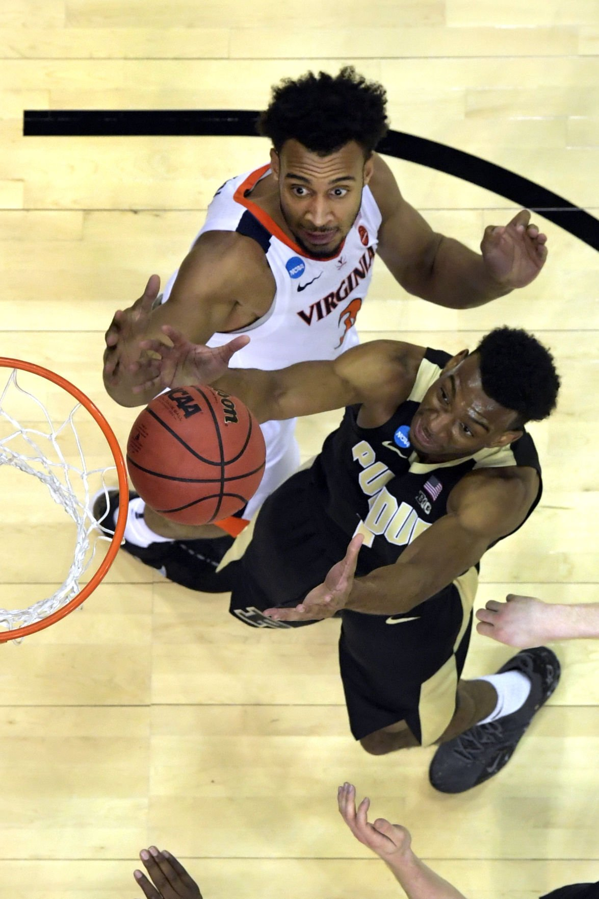 NCAA Purdue Virginia Basketball