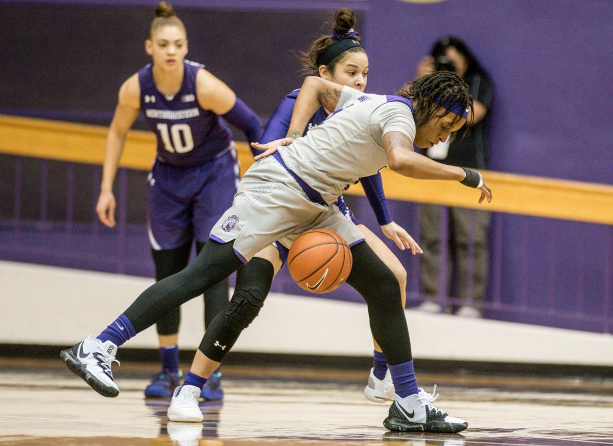 NCAA WNIT Northwestern James Madison Basketball
