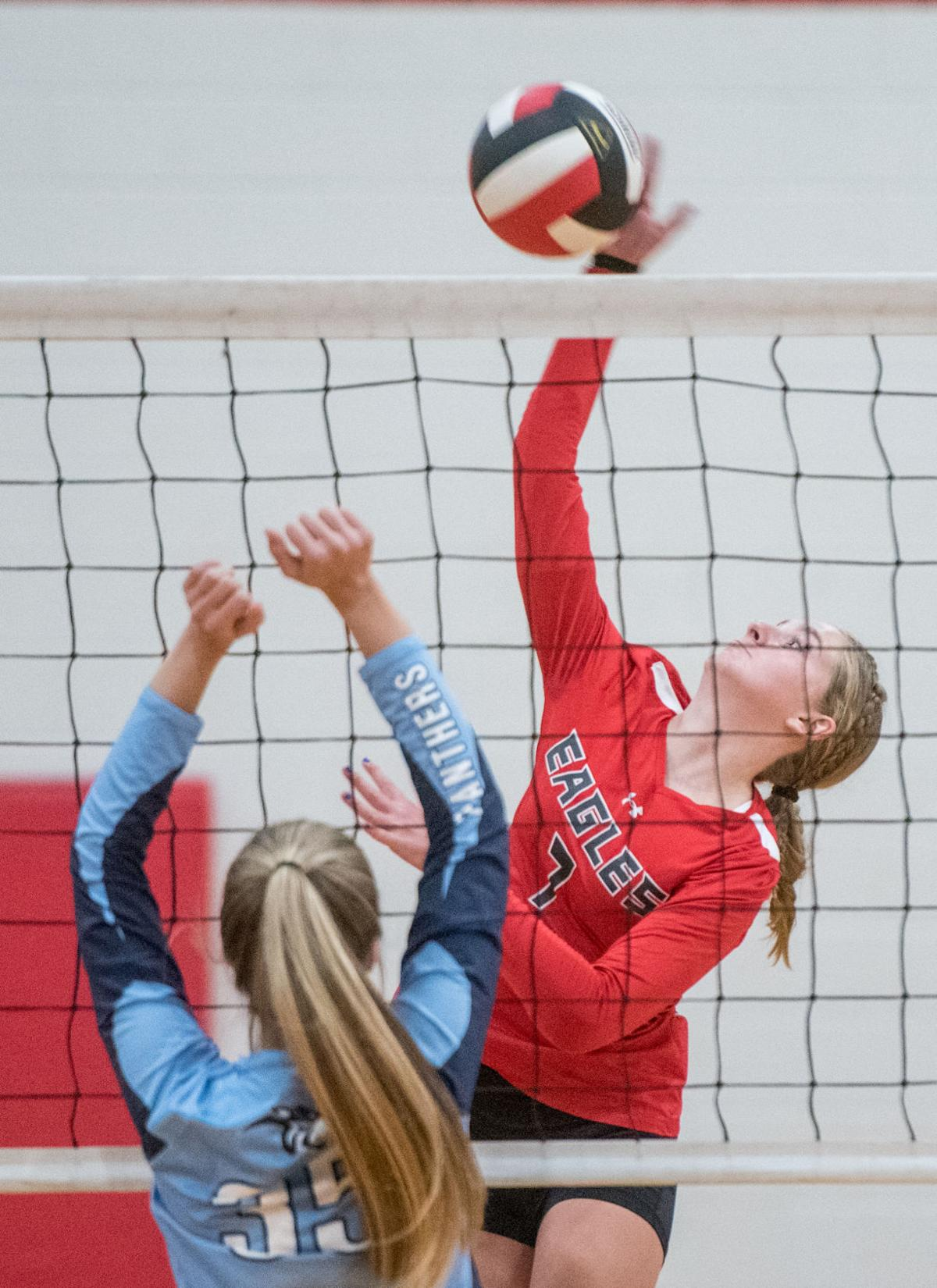 East Rock Volleyball Sweeps Page