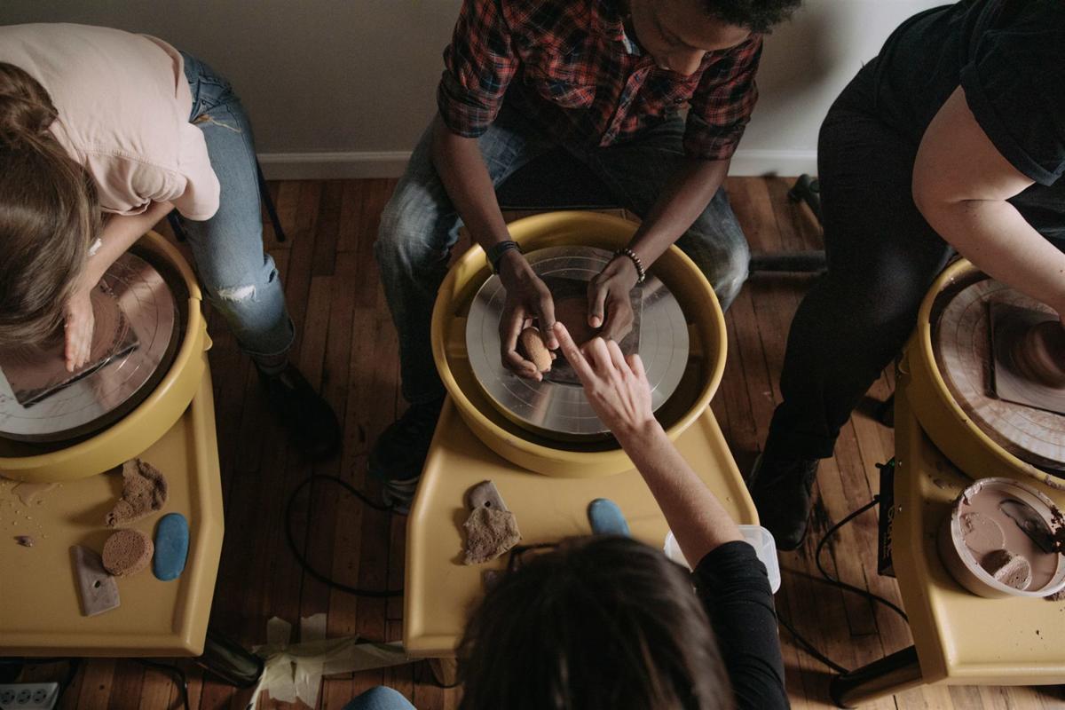 Larkin Arts hands over clay