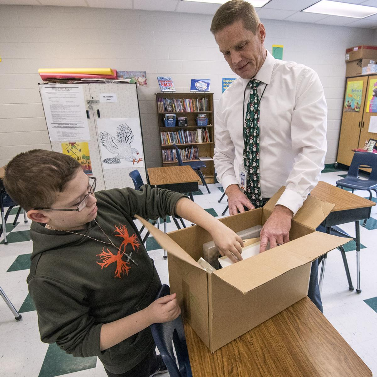 Veterans Affairs — Family's Military Service Inspires School Project