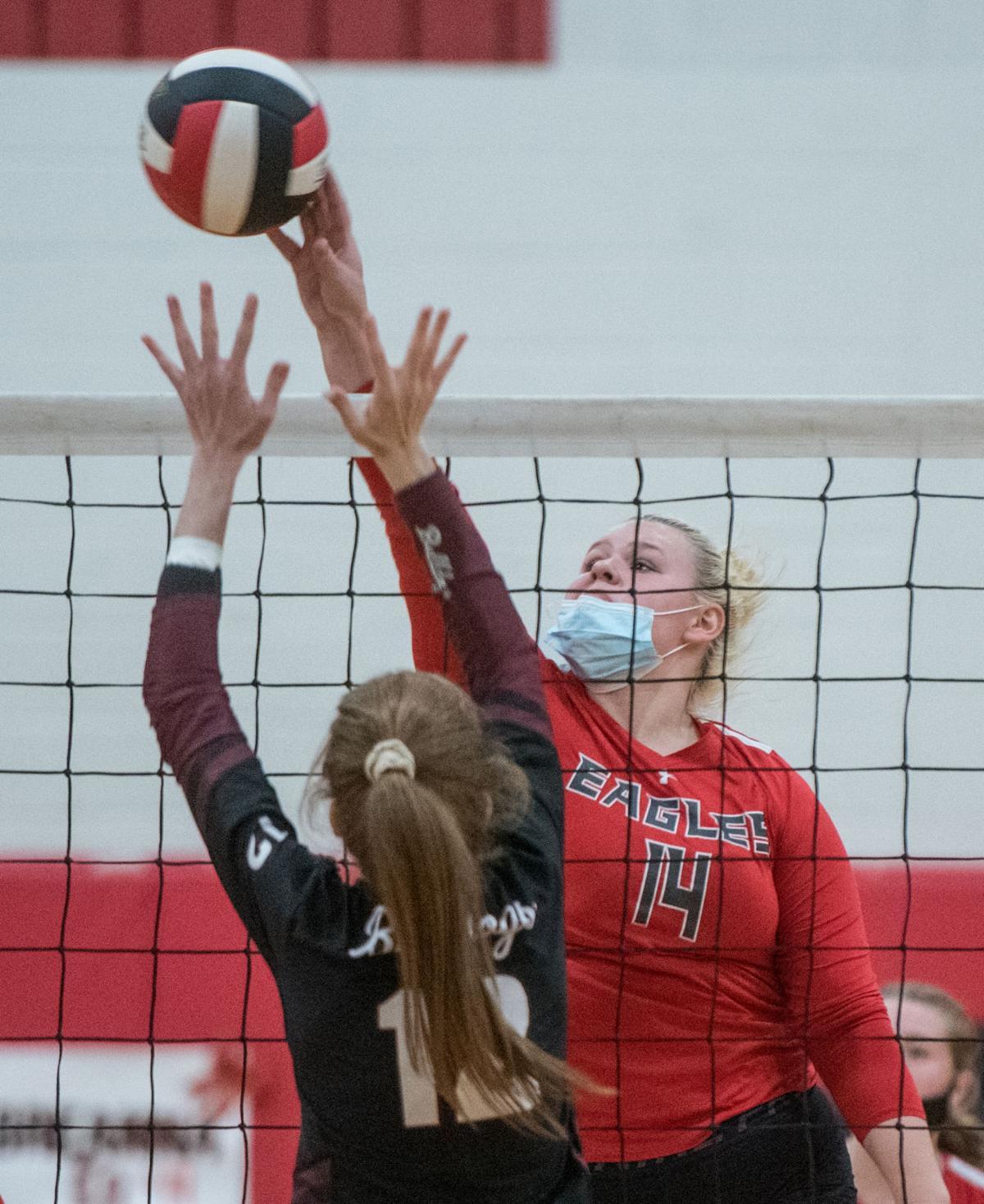 East Rockingham vs. Luray Volleyball