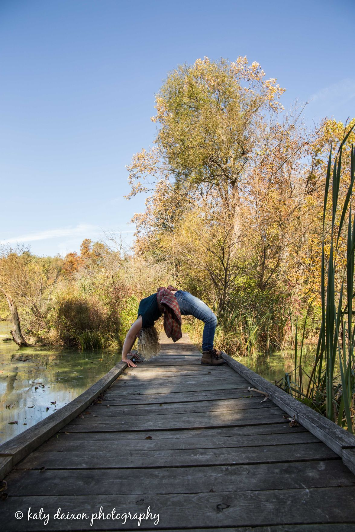 backbend the center yoga