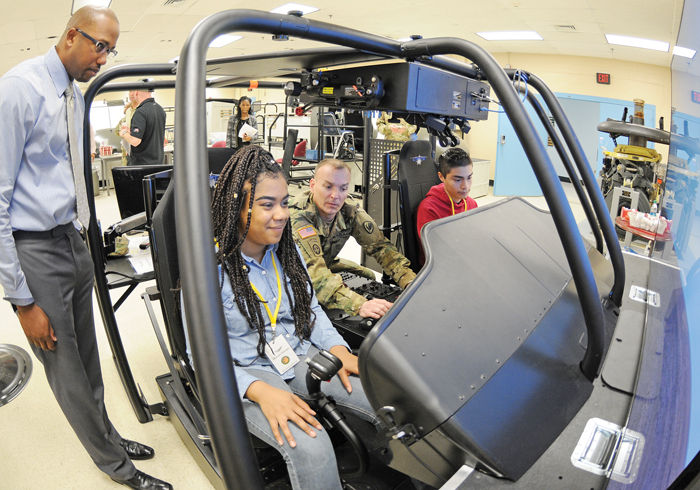 fort rucker treats gold star families to day at simulator news rh dothaneagle com