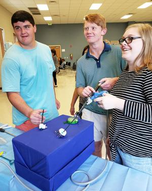 ECTC students participate in Flowers Hospital program