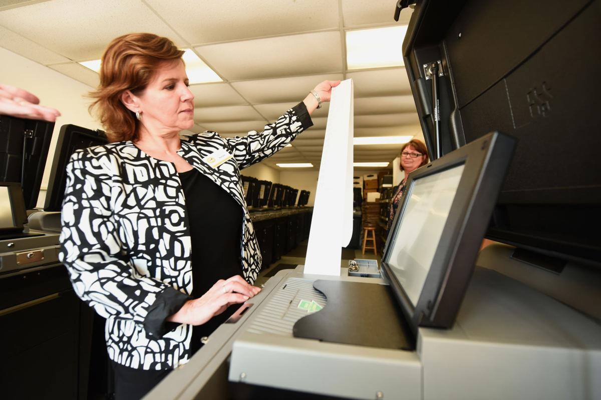 Voting machine test
