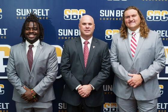 Troy football Sun Belt Media Day