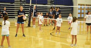 Enterprise volleyball hosts Mini Cats Camp