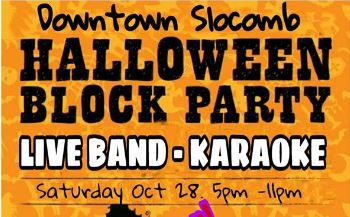 slocomb halloween block party