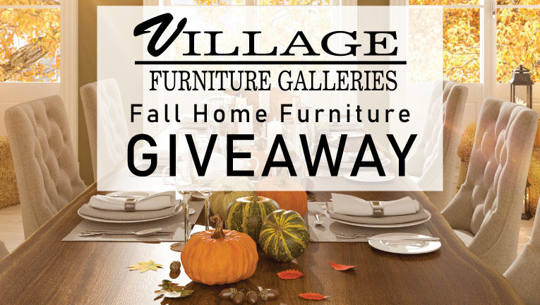 Enter to WIN! Village Fall Home Furniture Sweepstakes