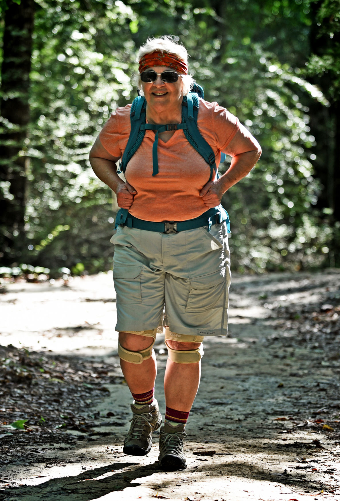 at 74 fay ferrell plans appalachian hike local