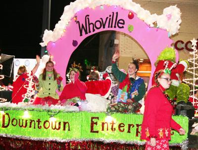 Christmas parade photo