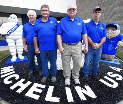 Michelin employees celebrate 40 years