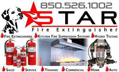 Star Fire Extinguisher