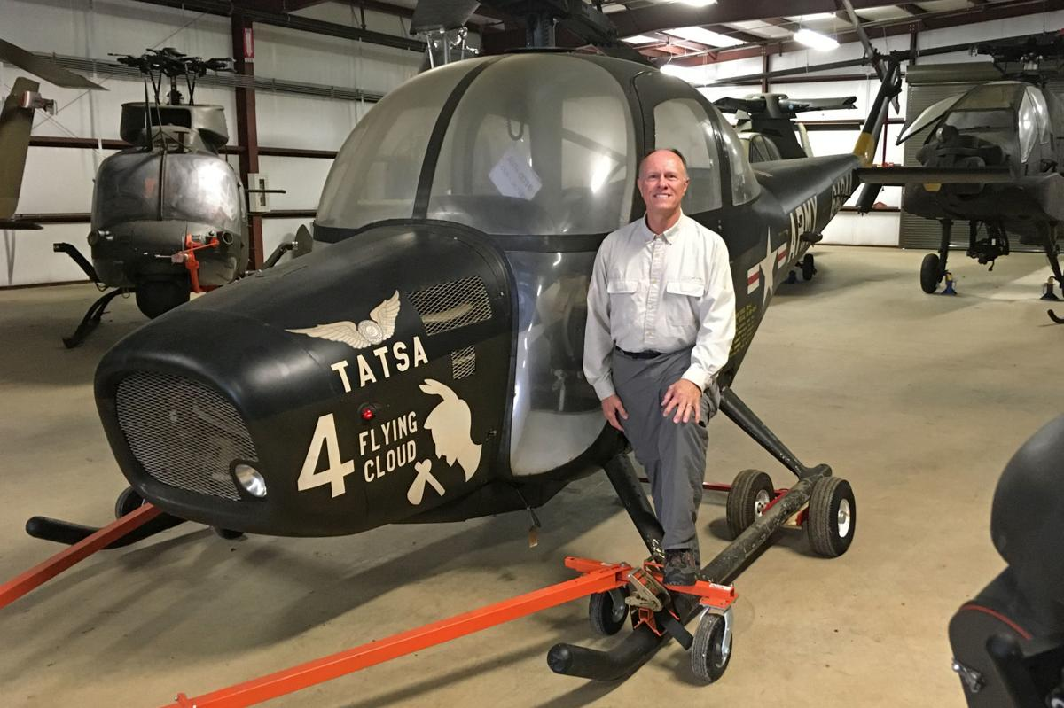 Climb raising funds for helicopter restoration project