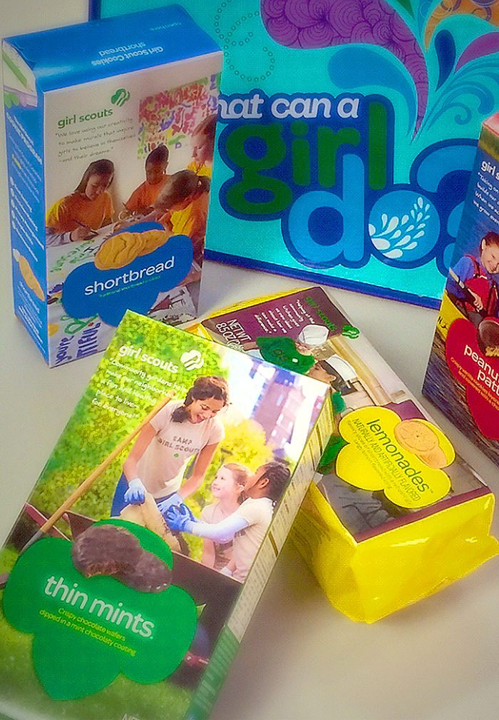girl scouts get high tech by offering online cookie