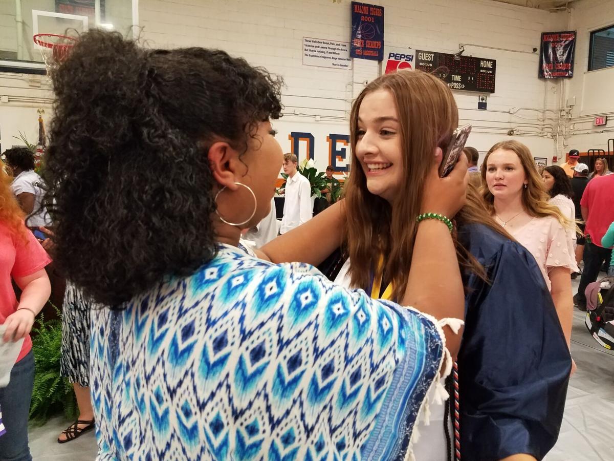 Malone, Marianna graduate the Classes of 2021