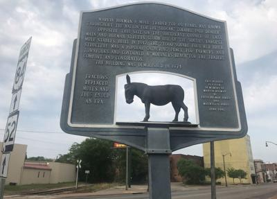 Answer Man: What's the story behind the mule marker?