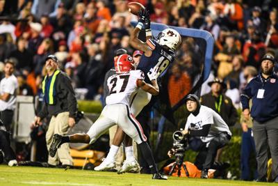 Georgia vs Auburn Football