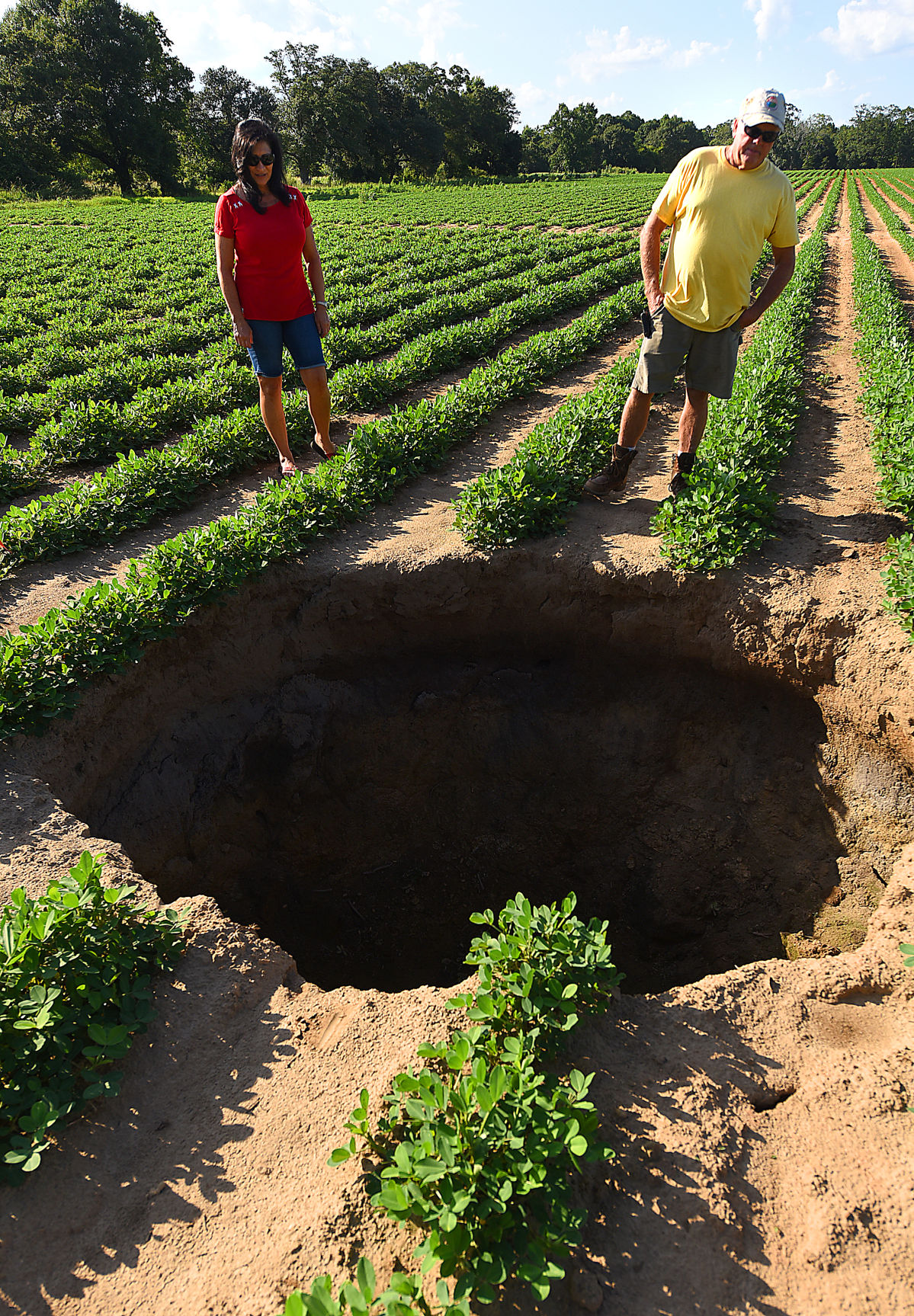 Houston Car Sales >> Tractor has near miss with sinkhole in Rehobeth | Local | dothaneagle.com