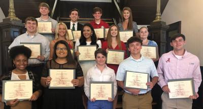 Dale County Bama Club Scholarship Presentation
