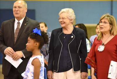 Alabama Governor Kay Ivey's visit to Webb Elementary School