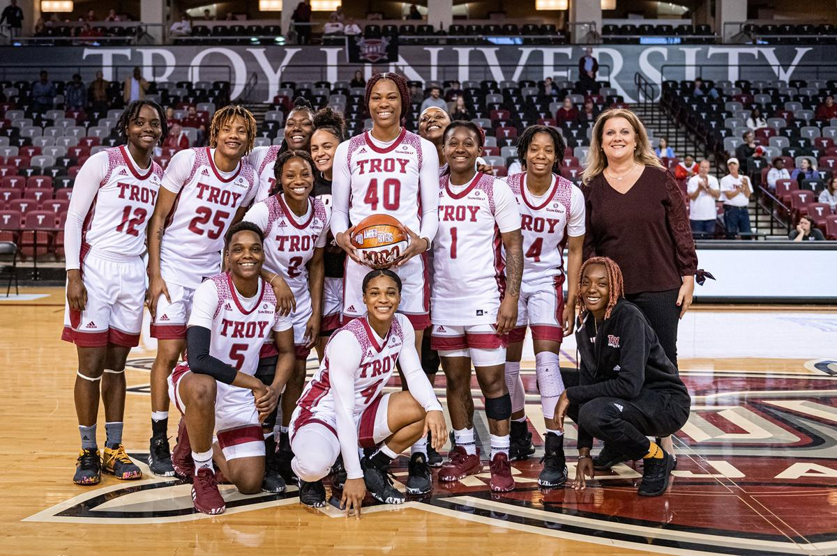 Troy women basketball main
