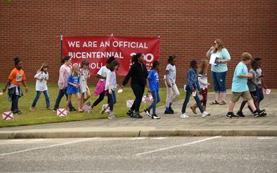 Alabama Governor Kay Ivey's visit to Webb Elementary School