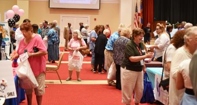 Residents enjoy Senior Living Expo