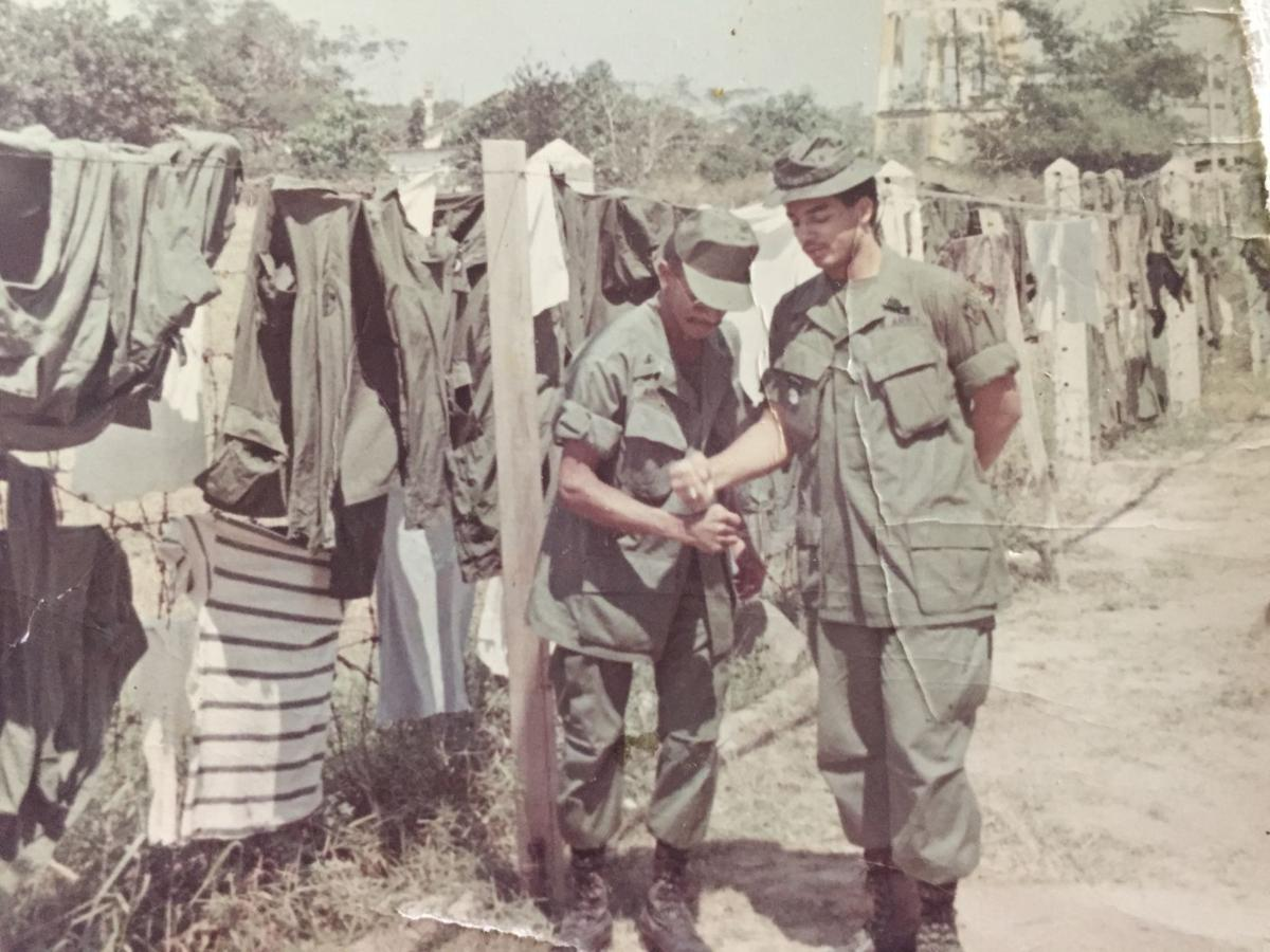 Friends reunited 50 years after Vietnam service