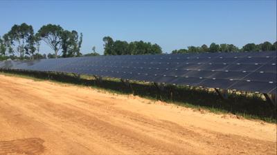 Fort Rucker solar panels