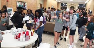 ESCC students meet organizations, enjoy treats