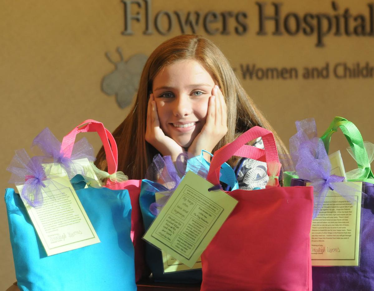 Analeigh Givens 12 delivers hope to mothers of premature