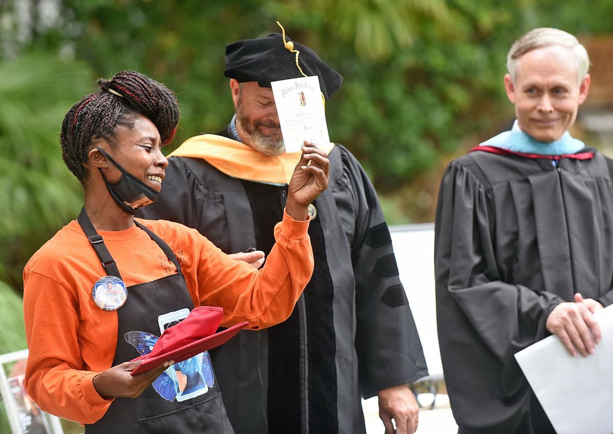 Majic Collins' honorary diploma