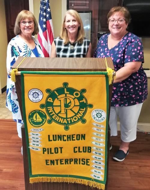 Julie Mills newest member of Luncheon Pilot Club