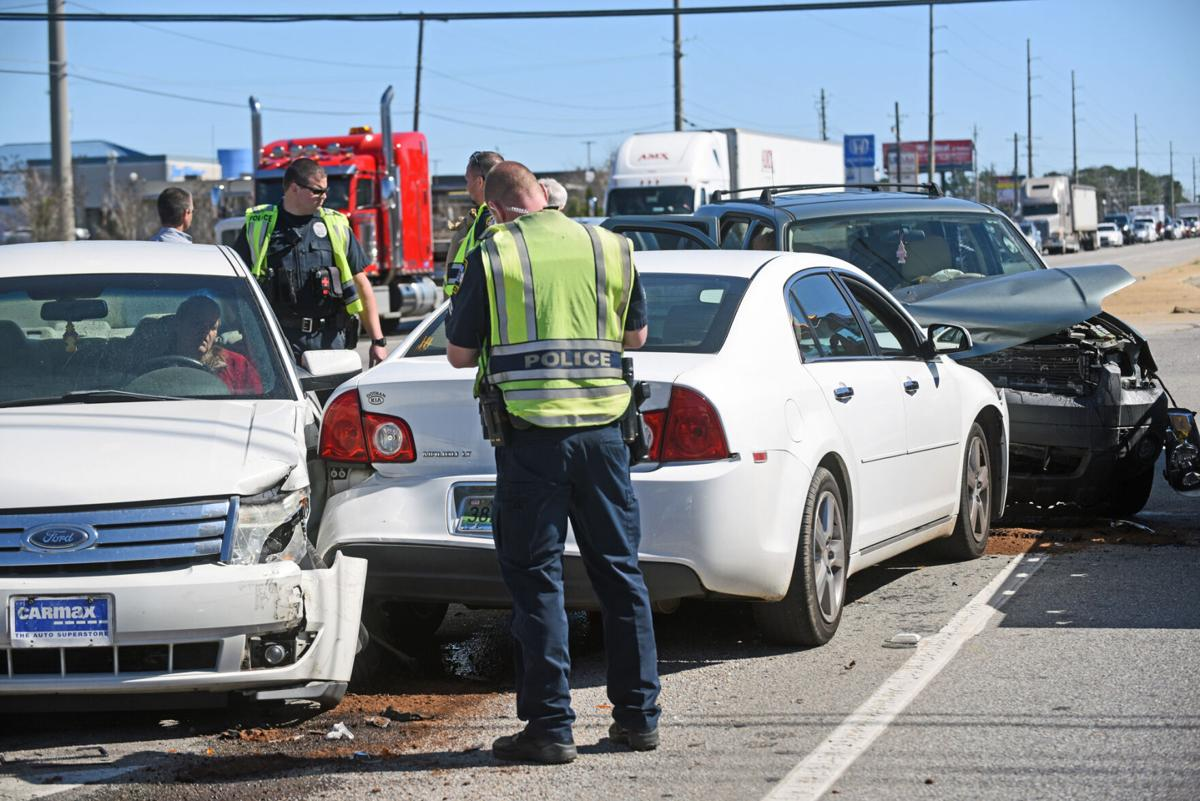 No injuries reported in head-on collision