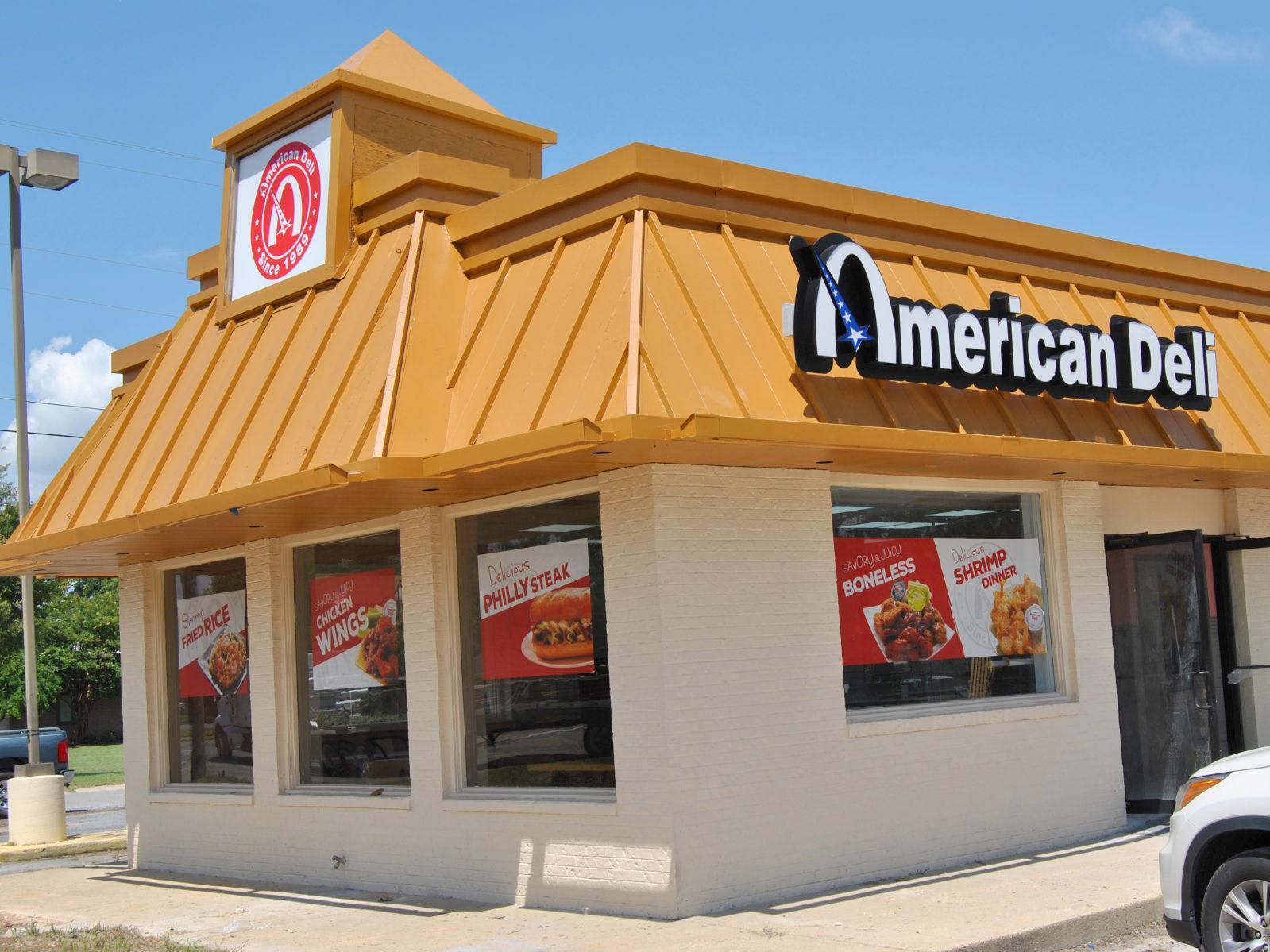 American Deli menu with prices 2021