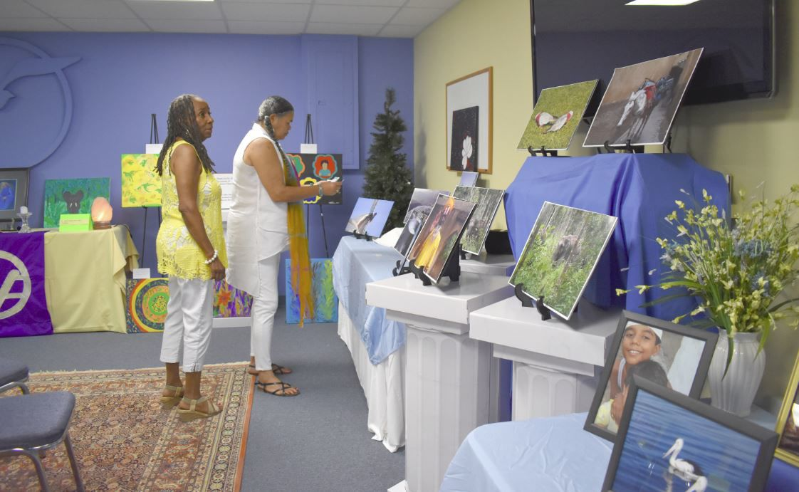 Arts Alive exhibit at Spiritual Enrichment Center