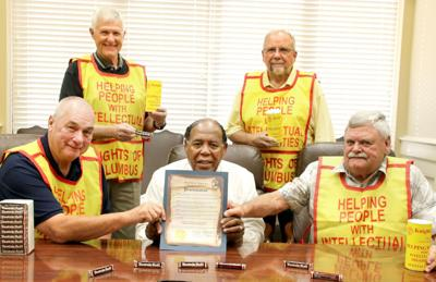 Mayor signs proclamation for Knights of Columbus Awareness Month